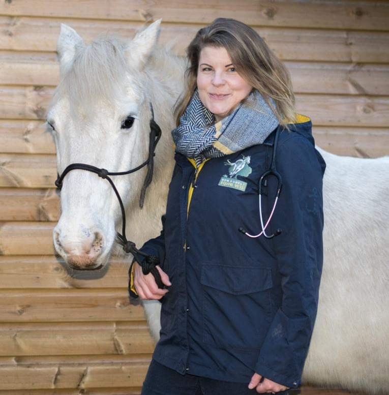 Beth with horse